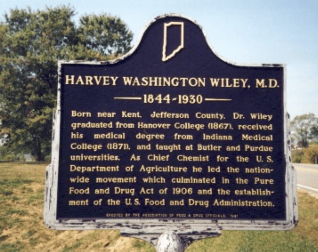 Wiley historical marker
